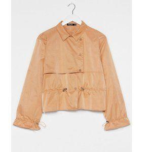 Nasty Gal Camel Trench Coat